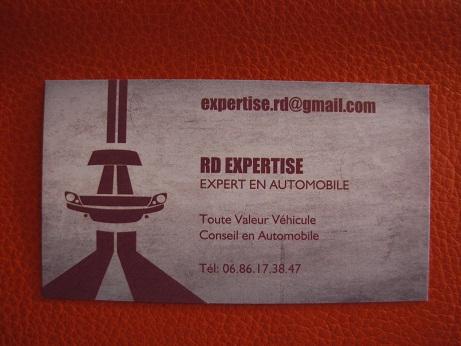 Carte De Visite Dun Expert Automobile